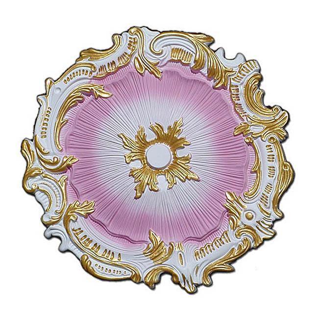 handpainted 1675inch starburst ceiling medallion - Ceiling Medallion