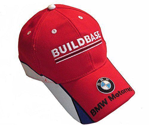 buildbase BMW Motorrad Superbikes Britannique Équipe PAC: buildbase BMW Motorrad BSB équipe PAC Casquette rouge avec panneaux bleu et blanc…