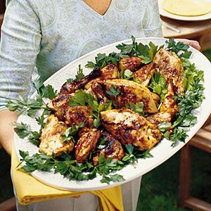 10 Classic Main Dishes for Your Easter Dinner | Lexington-Style Grilled Chicken | SouthernLiving.com