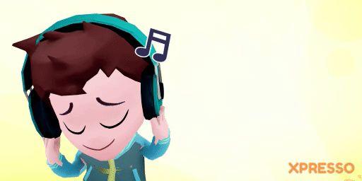 Sunday Funday, Sunday Joy, Sunday Love, Sunday Music, GIFs for WhatsApp, Avatar, Animation, XPRESSO, Cartoon, Funny