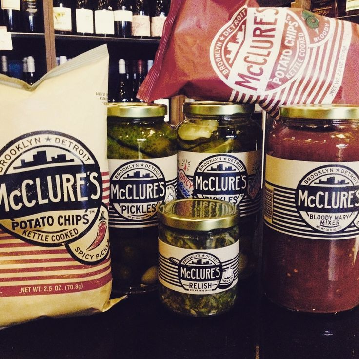 MCCLURE'S PICKLES / Make sure your snacks are on point this weekend! Parap Fine Foods are stocking an assortment of Mcclure's Pickles bites, including potato chips, relish, pickles and Bloody Mary mixers. Come in and check them out!