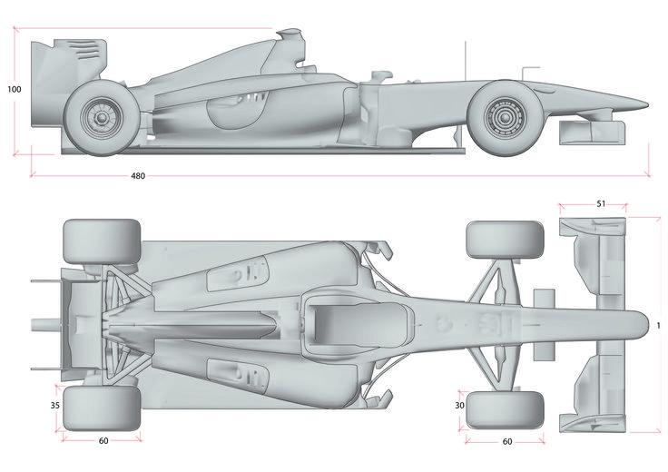 Layout Size F1