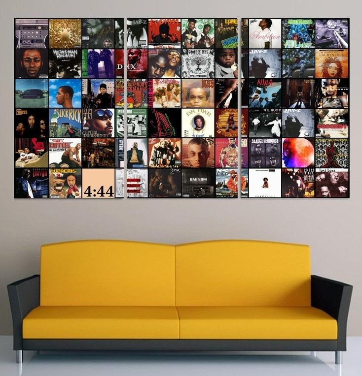 Real Hip Hop Wall Art Framed Rap Canvas Hip Hop Collage Etsy Hip Hop Gifts Good Kid Maad City Real Hip Hop