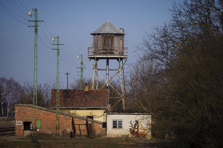 Egyedi tervezésű víztorony Tiszalökön  Forrás: MTI/Czeglédi Zsolt