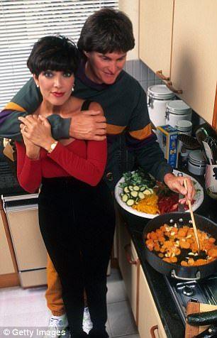 Bruce Jenner & Kris Kardashian 1991 - Robert Kardashian KNEW OJ Simpson was guilty | Daily Mail Online
