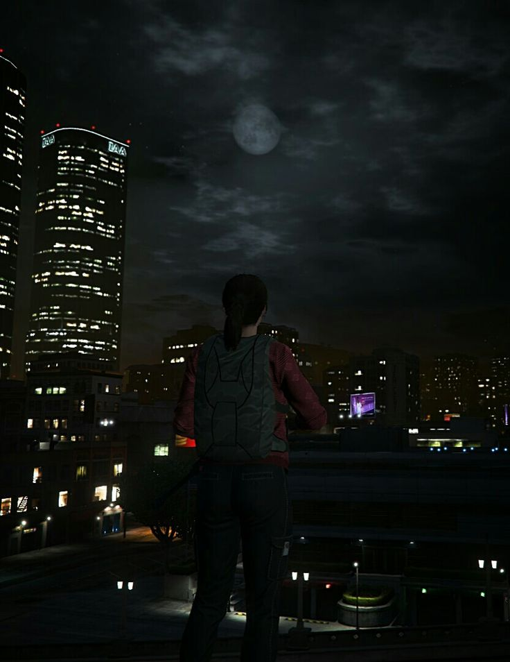 """I walk through the valley of the shadow of death. I fear no evil because I'm blind to it all. My mind and my gun they comfort me Because I know I'll kill my enemies when they come. "" #gtav #ellie #thelastofus #tlou #gtavonline"
