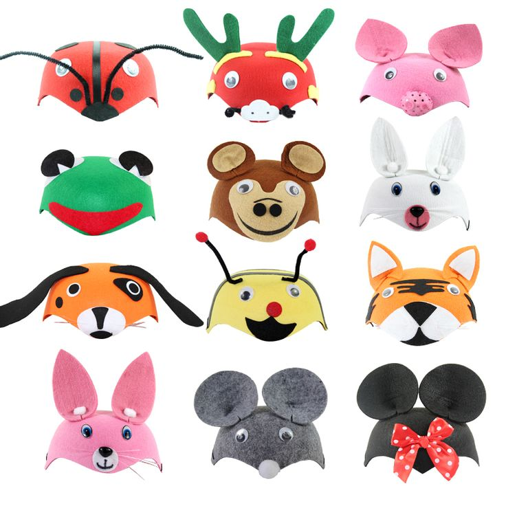 Kids Cartoon Animals Cap Hat Halloween Christmas Children's Day Gift Costume Dress Up Props Caps for Children Boy Girl-in Hats & Caps from Mother & Kids on Aliexpress.com | Alibaba Group