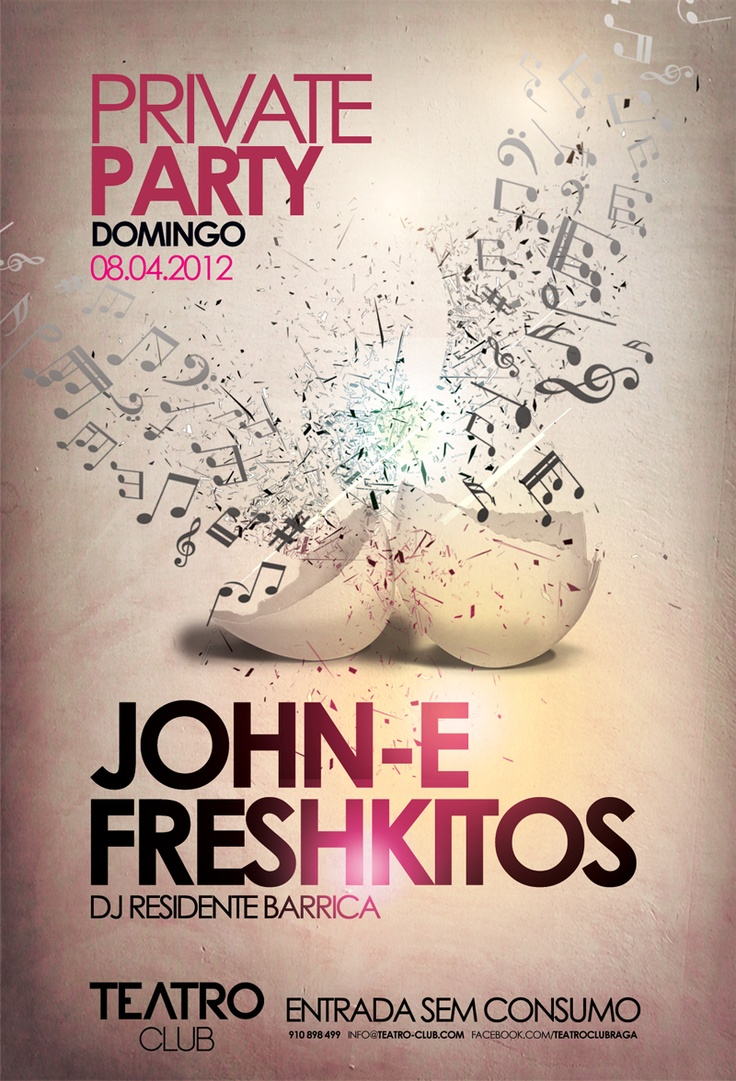 Flyer 'Private Party' @ Teatro Club