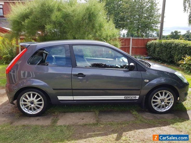 Ford Fiesta Zetec S 1.6 TDCI Sea Grey #ford #fiesta #forsale #unitedkingdom