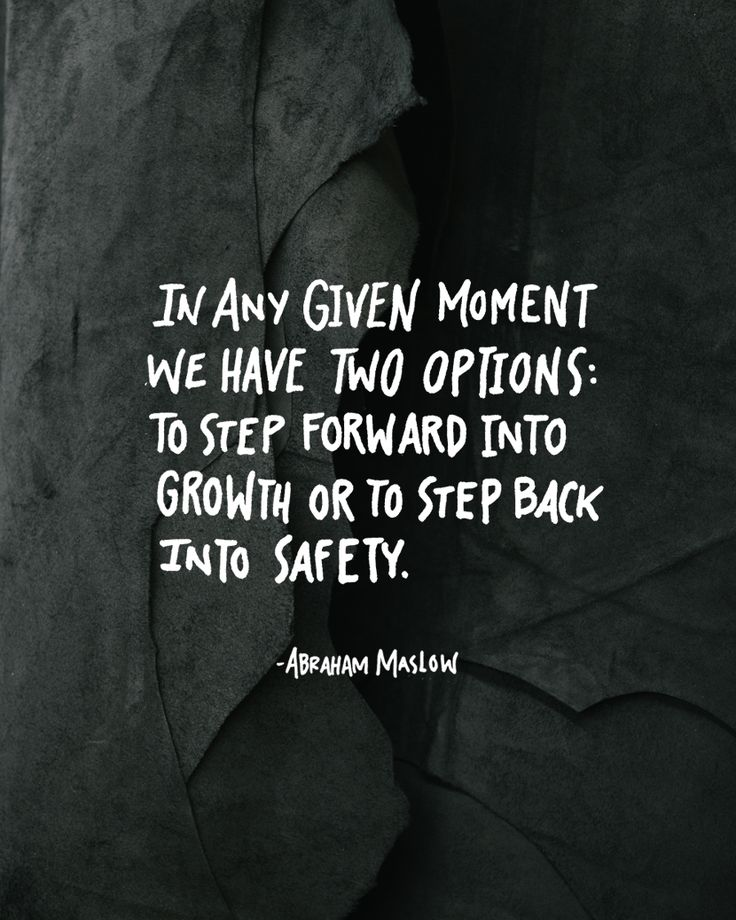 I'm about to step back into safety because I'm not growing. Let's be honest