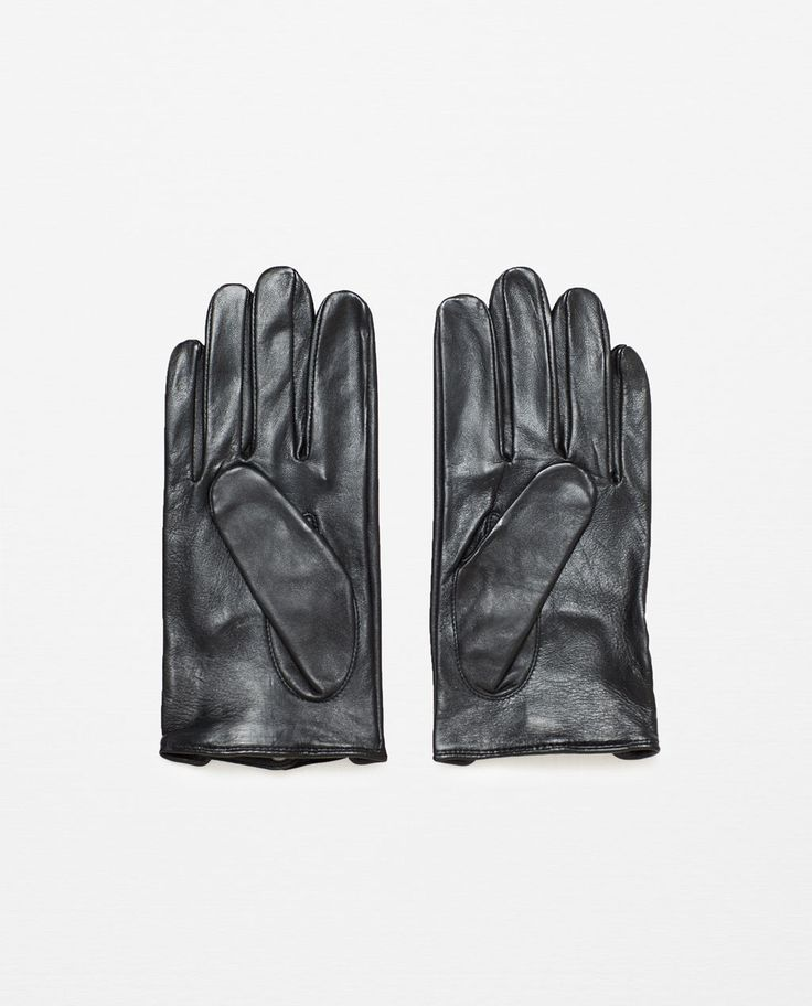 ZARA - MAN - LEATHER GLOVES