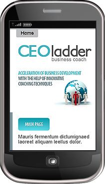 CEO Ladder Mobile Templates by Nessy