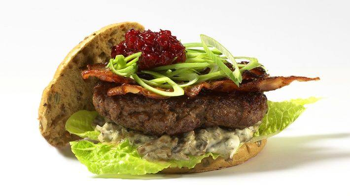 Hytteburger - MatPrat