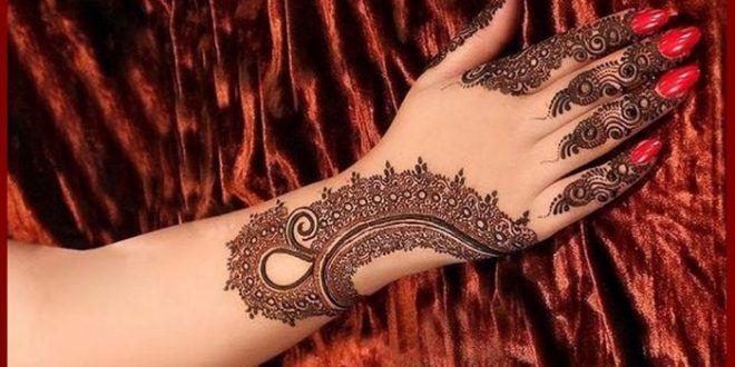Flower Eid Mehndi Design 2016 For Hands And Feet