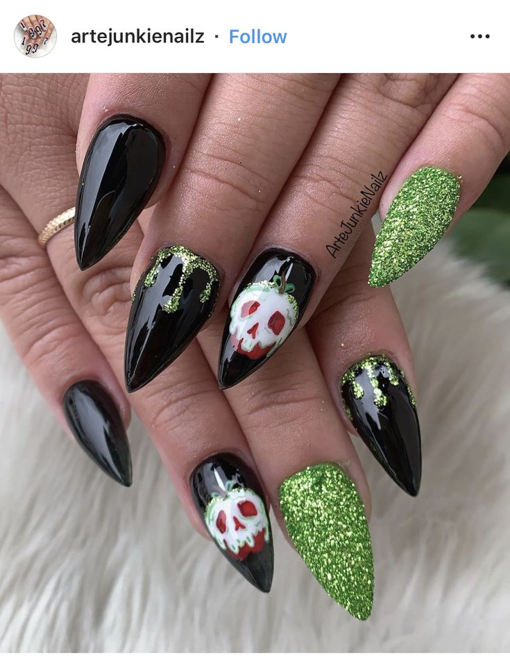Pin by Cynthia Williams on Nails art | Almond shaped nails ...