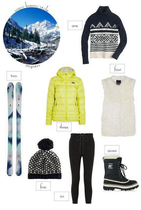 Snow Bunny Style: Ski Gear for Aspen