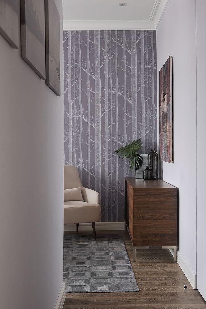 Фрагмент интерьера спальни из проекта Трёхкомнатная квартира в современном городском стиле. Автор Насонова Анна