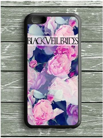 Black Veil Brides Floral iPhone 6S Plus Case