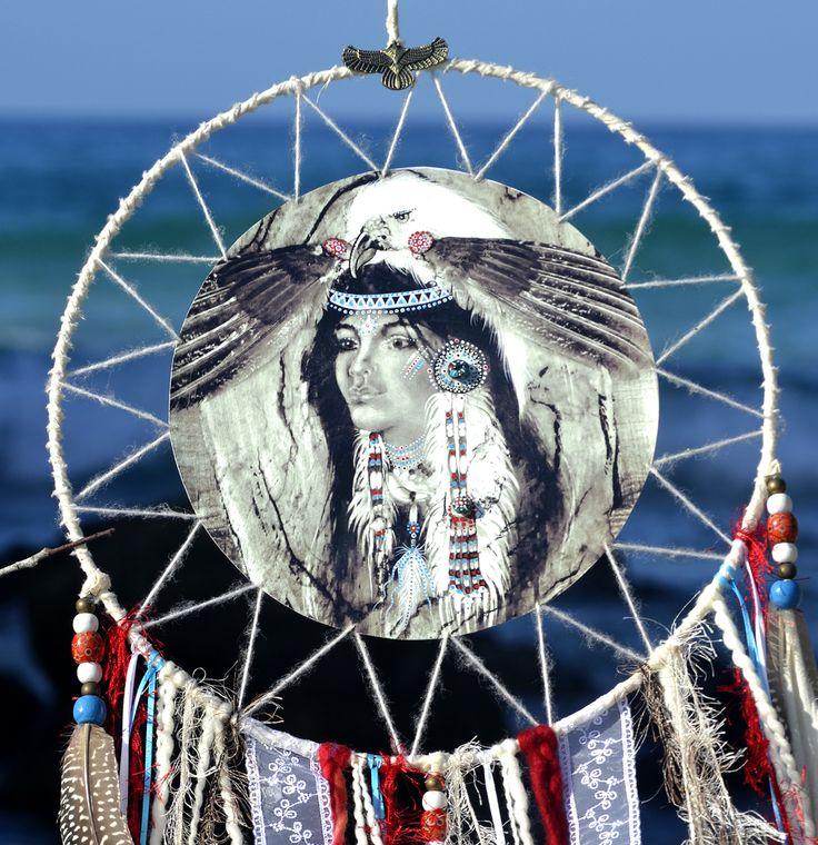 Eagle Women, Dream catcher, Native American Women, by Heavenly Earth Art