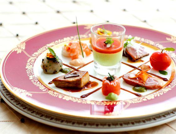 お料理 | アゴラシオン | AGORAZION | 大阪 レストランウェディング オーベルジュウェディング 結婚式場