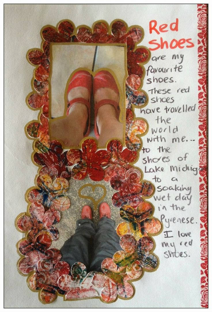 Michelle Reynolds - DLP - Week 17 Challenge - Photograph or draw your favorite shoes.
