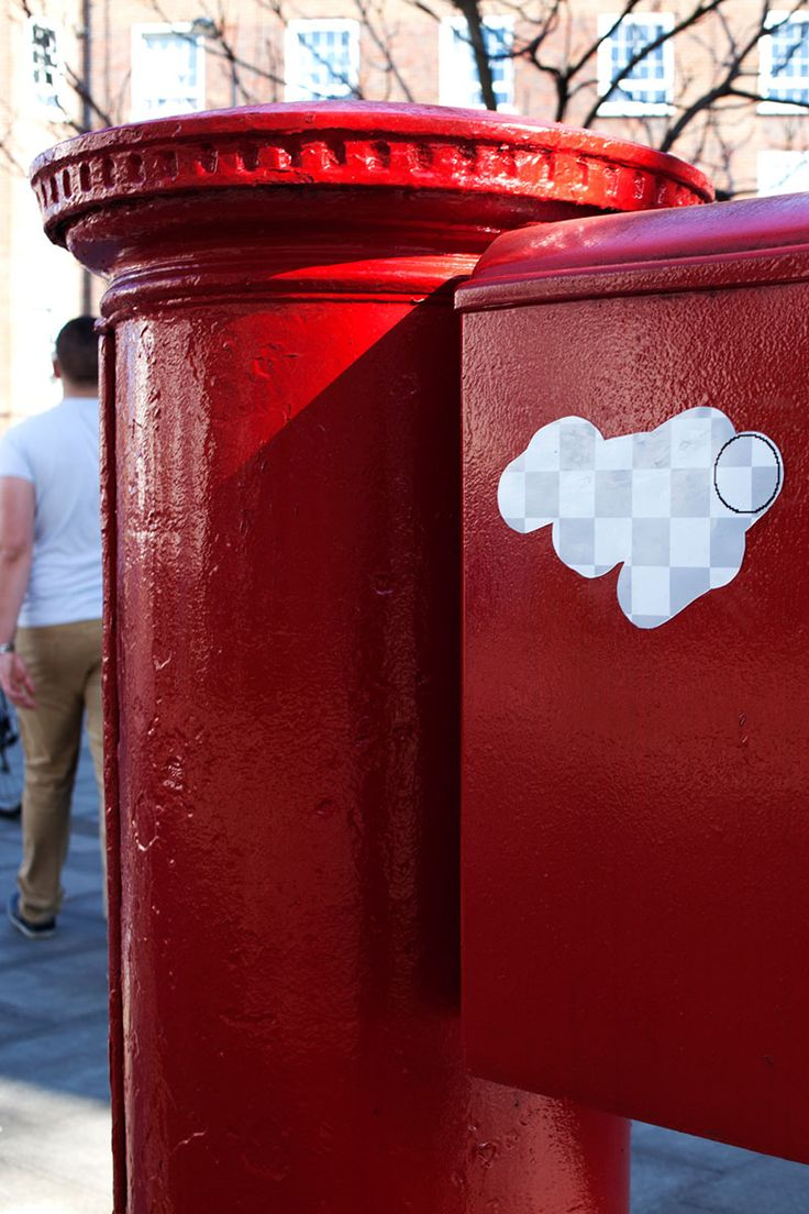 Street Eraser: Giant Stickers Appear to Erase the Streets of London with Photoshop street art stickers photoshop London erasers
