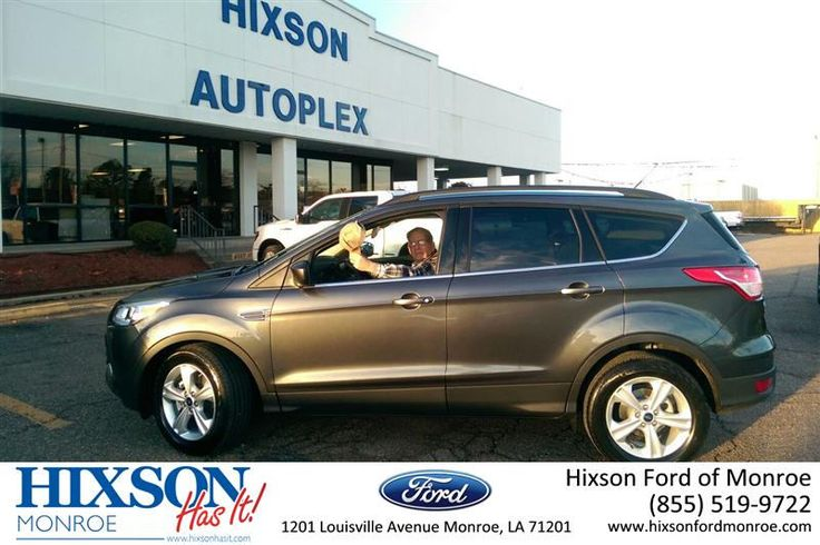 Congratulations to Gerald Wiese on your #Ford #Escape purchase from Steven McClellan at Hixson Ford of Monroe! #NewCar