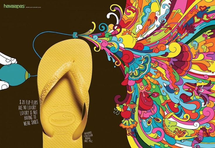Havaianas Print Advertisement by BBDO
