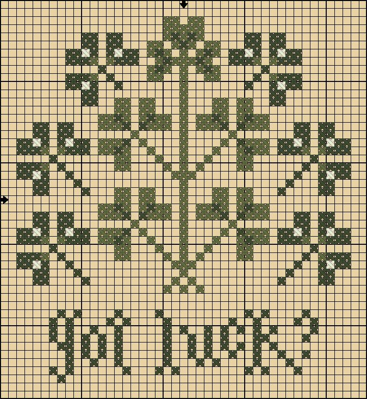 got luck? free st. patrick's day cross stitch chart