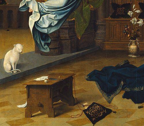 Jan de Beer    Annunciation (1520) - Detail