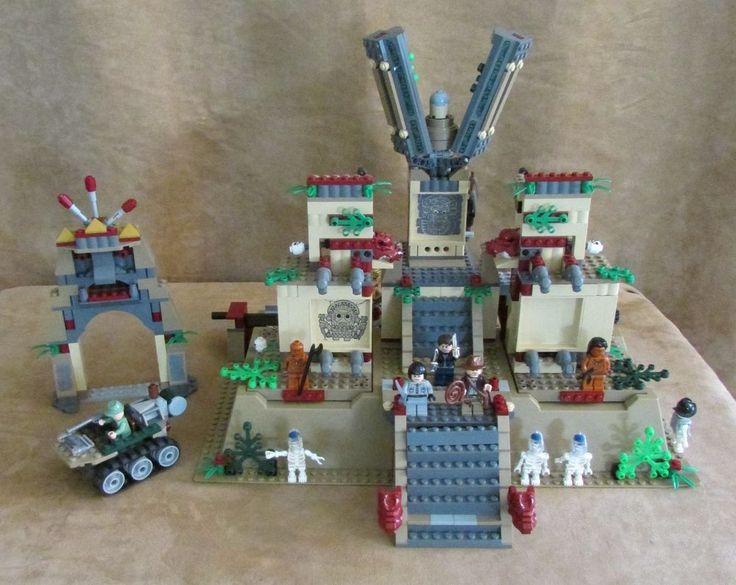 7627 Lego Indiana Jones Temple of the Crystal Skull complete baseplate kingdom #LEGO