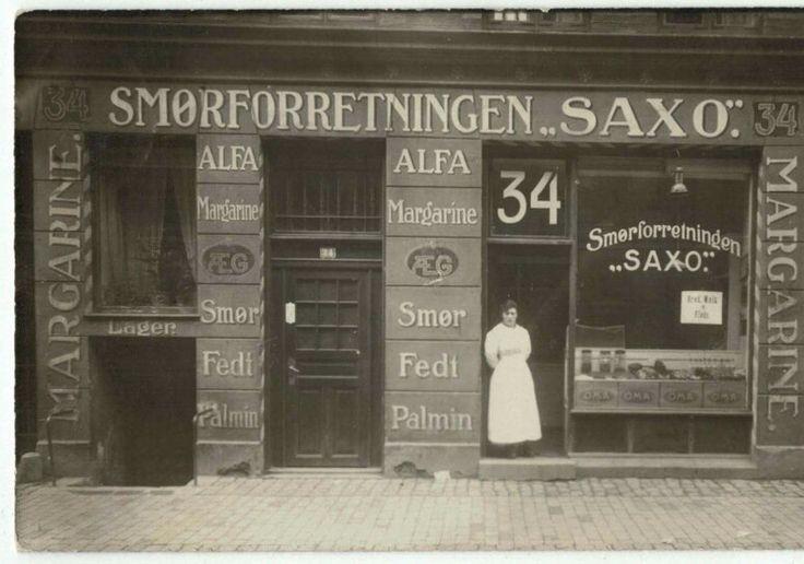 Saxogade 34, 1919