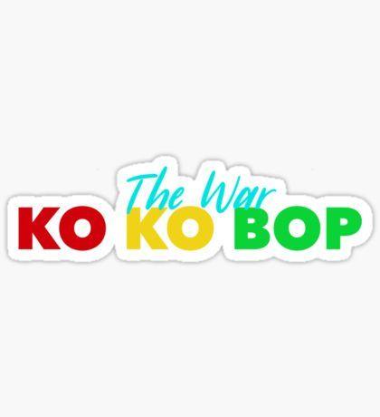 Exo Kokobop Sticker