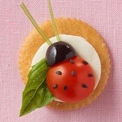 RITZ Caprese Ladybug - Allrecipes.com