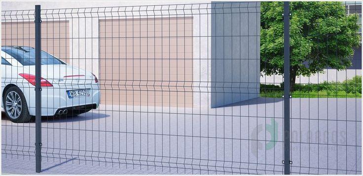 Sparta 75 to panele ogrodzeniowe o oczku 75 x 200mm.