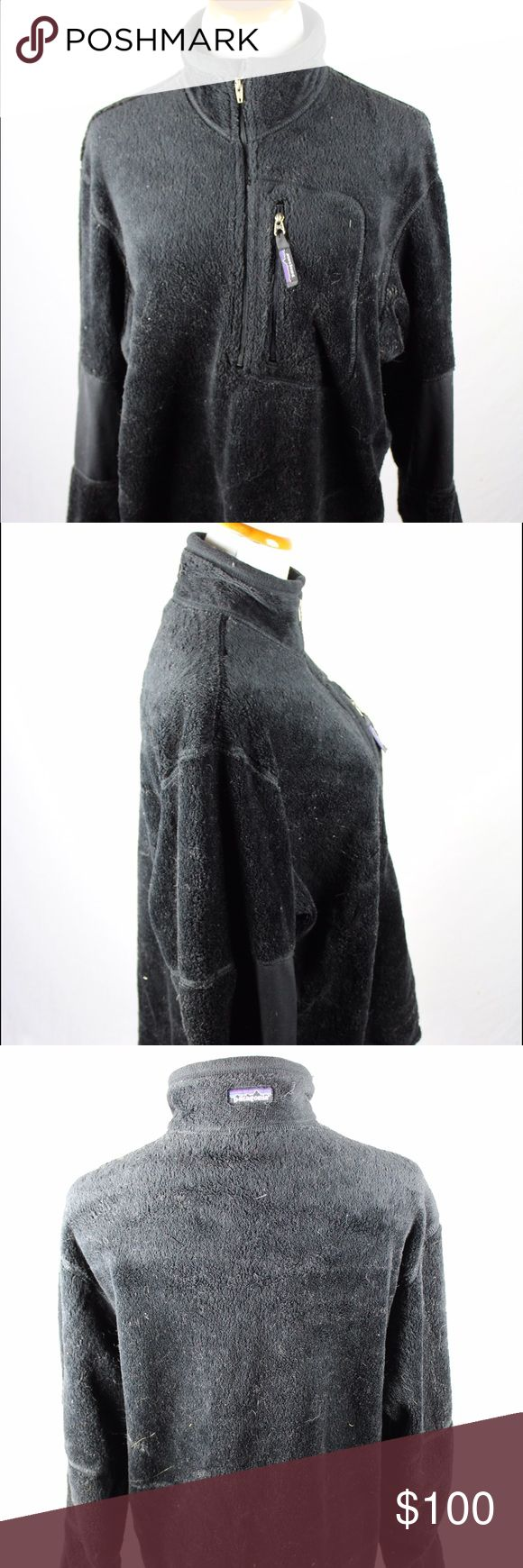 Patagonia Black Fleece This black fleece zip is a great unisex piece of clothing. Item was professionally cleaned before listed. SKU in warehouse is #611. Patagonia Jackets & Coats
