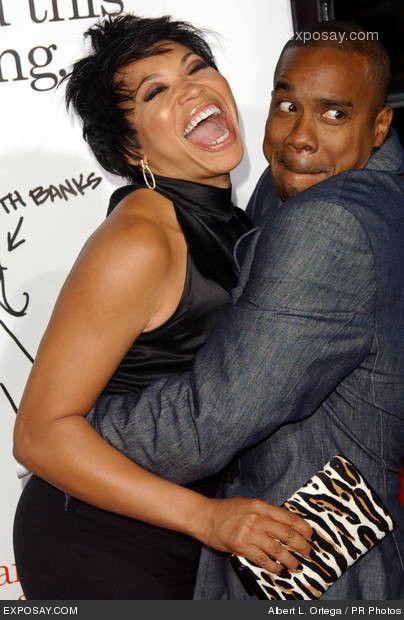 Duane & Tisha Martin  Duane and Tisha show us love can be fun and funny at the same time. This couple, who met on an audition for a sitcom and married in 1996 have proven that their love is strong. Aside from raising their kids, one of which has autism, they also have businesses together, which just goes to show that sometimes there is nothing wrong with mixing some business and pleasure.