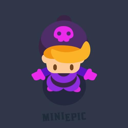 Male Thief Character Game Concept Art by MiniEpic www.MiniEpic.com