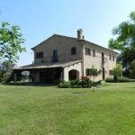 Ref. A2251 Nestled in the beautiful countryside surrounding Loro Piceno, in the province of Macerata, beautiful restored farmhouse with outbuilding, ..