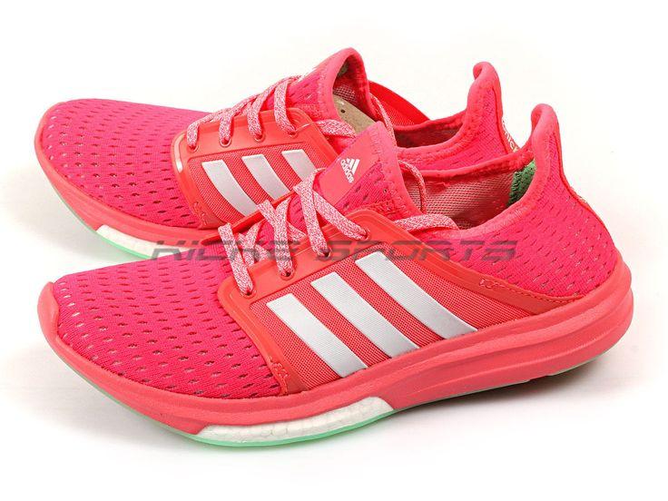 Adidas Cc Sonic Boost W Flash Pink/Flash Red/White Climachill Lightweight B44518