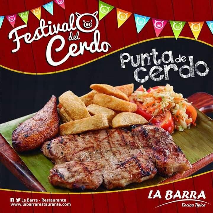 Festival del Cerdo Desde el 1 de Julio Hasta el 30 Disfruta nuestros deliciosos Platos. la Barra Restaurante #Cali - #Colombia http://ow.ly/FzHM301QuQN