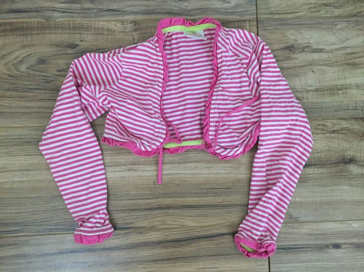 Hanna Andersson Cardigan Cropped Pink White Striped Long Sleeved Girls Sz 120 | Clothing, Shoes & Accessories, Kids' Clothing, Shoes & Accs, Girls' Clothing (Sizes 4 & Up) | eBay!