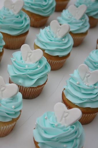 And Everything Sweet: Bridal Shower Cupcakes