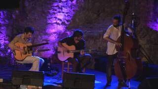 TOLGA trio- LIVE in Jurandvor (otok Krk) gipsy swing jazz - YouTube