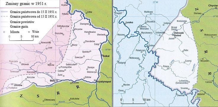lengyel -szovjet határ 1951 február 15