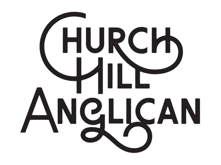 Not the new Church Hill Anglican logo by Simon Walker