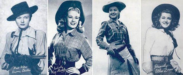 Hollywood heyday: Cowgirls in Westerns