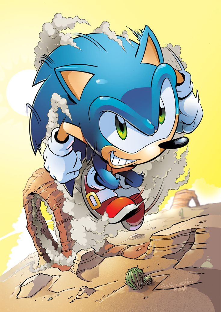 Sonic the Hedgehog by herms85.