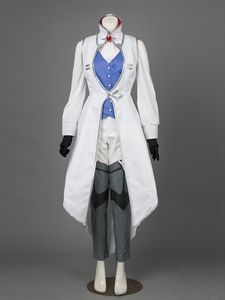 Show details for RWBY Season 3 Winter Schnee Ice Queen Cosplay Costume mp003010