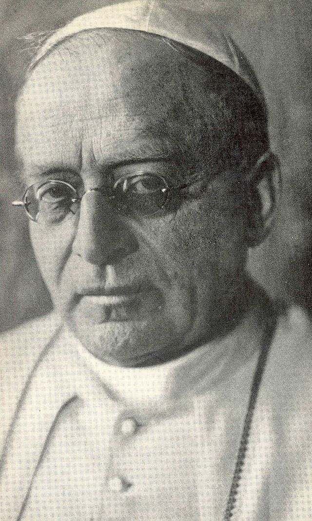 Pope Pius XI  List of popes - Wikipedia, the free encyclopedia
